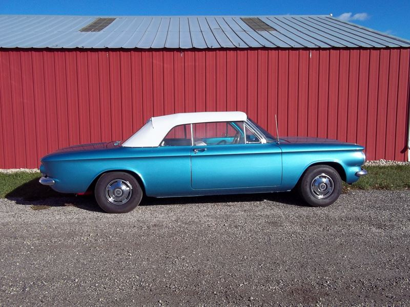 1963 Chevrolet Corvair Monza 900 Antique Car Madison Wi 53794
