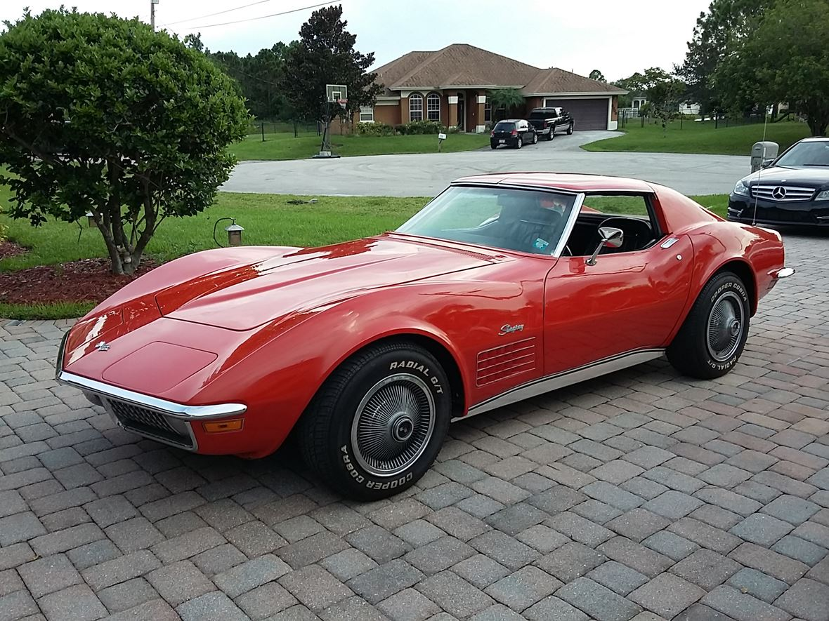 1970 Chevrolet Corvette for sale by owner in Port Saint Lucie