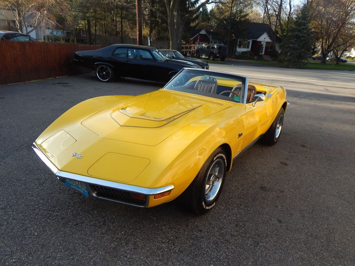 1972 Chevrolet Corvette for sale by owner in Manahawkin