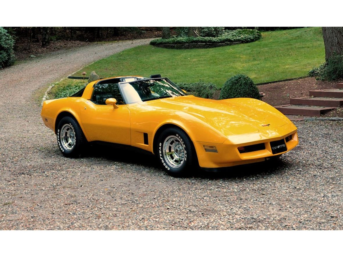1981 Chevrolet Corvette for sale by owner in East Hampton