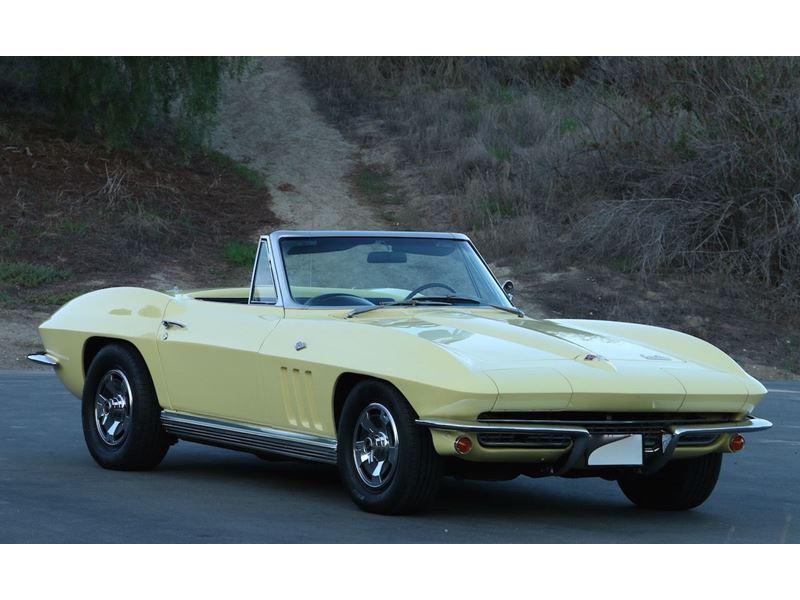 1966 Chevrolet Corvette Stingray Antique Car New York