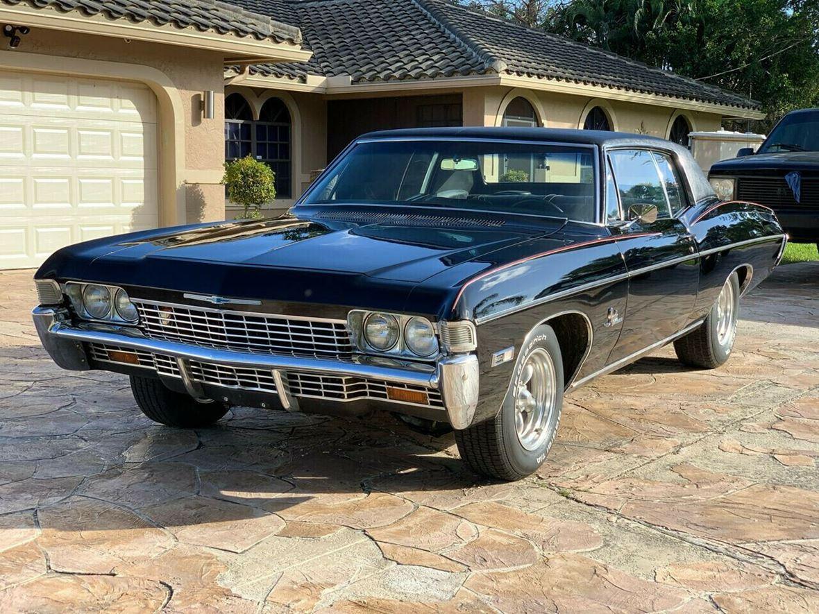 1968 Chevrolet Impala Antique Car Fresno Ca 93722