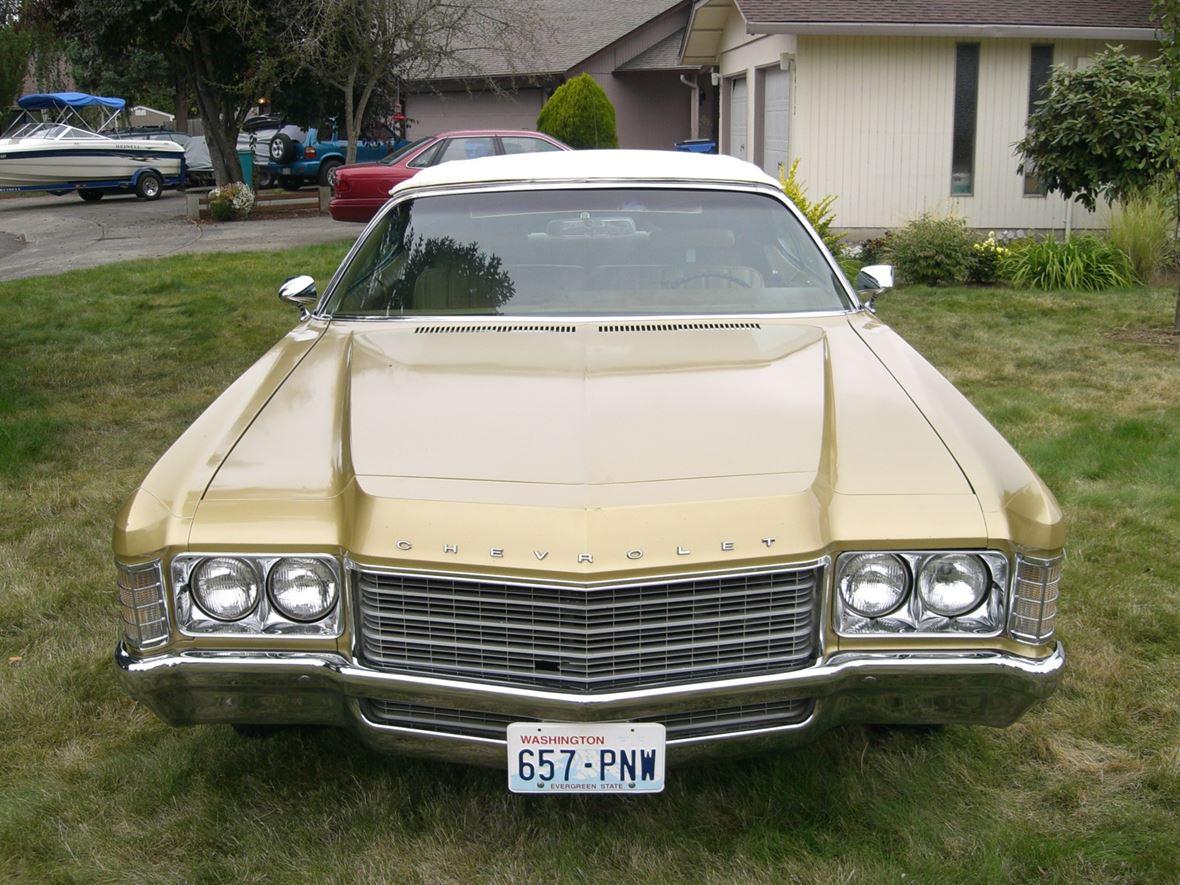 1971 Chevrolet Impala Antique Car Vancouver Wa 98687