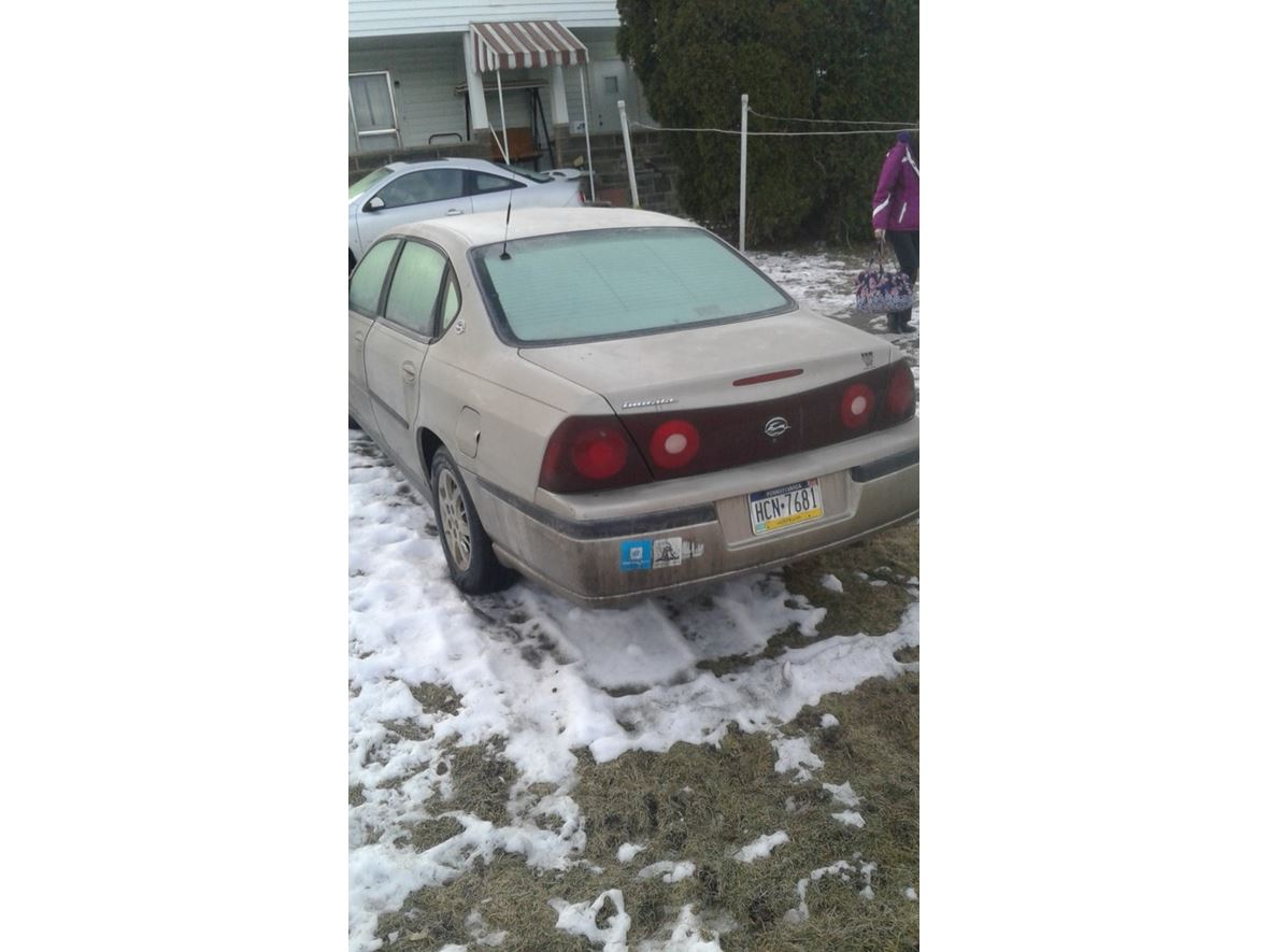 2001 Chevrolet Impala for sale by owner in Windber