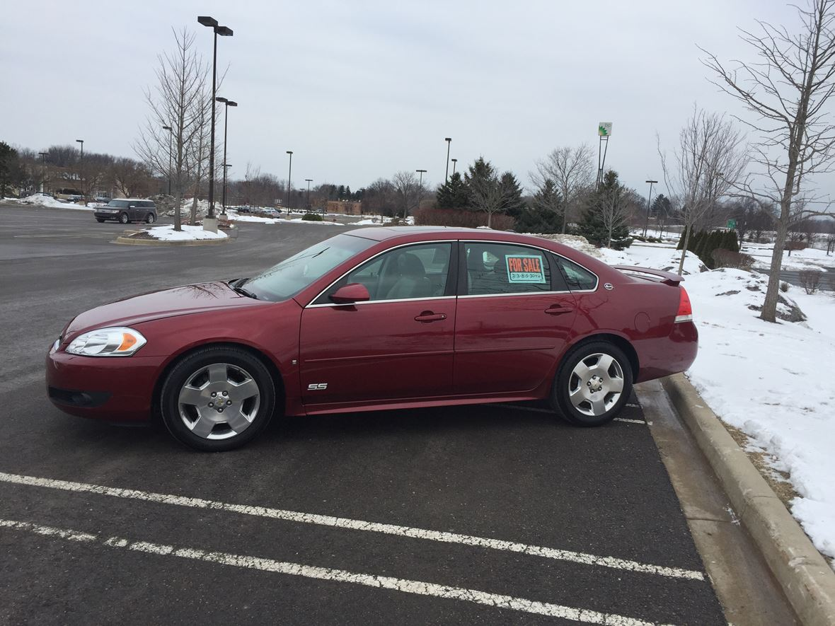 2009 Chevrolet Impala Ss >> 2009 Chevrolet Impala Ss For Sale By Owner In South Lyon Mi 48178 5 775