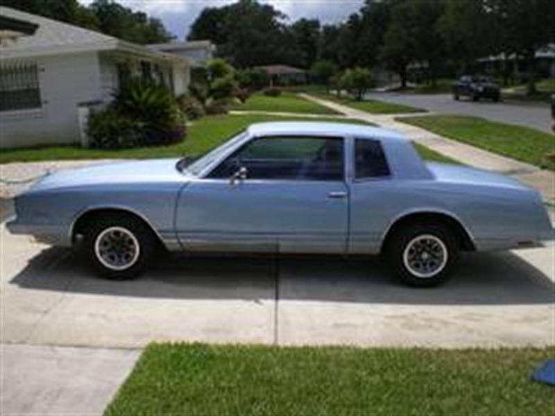 Cars For Sale In Orlando >> 1982 Chevrolet Monte Carlo - Classic Car - Orlando, FL 32899
