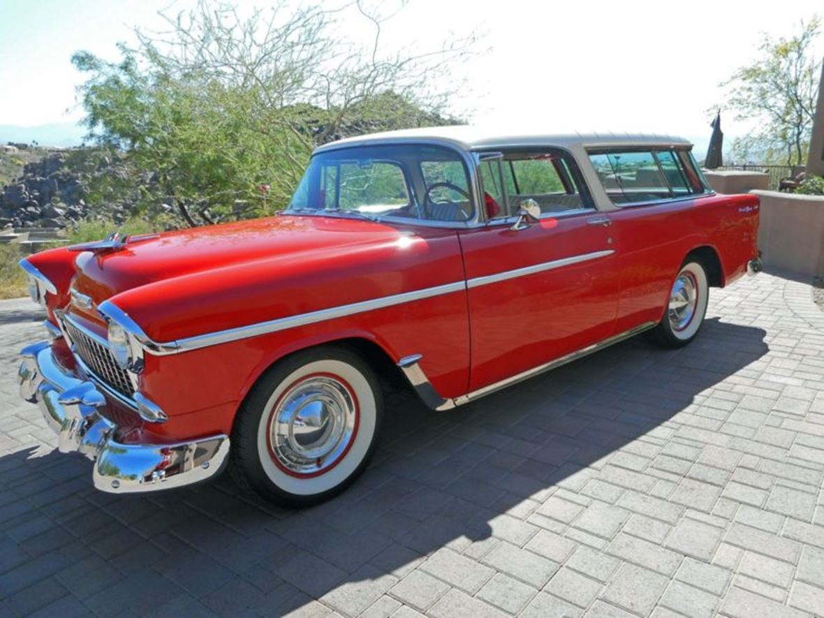 1955 Chevrolet Nomad for sale by owner in Richardson