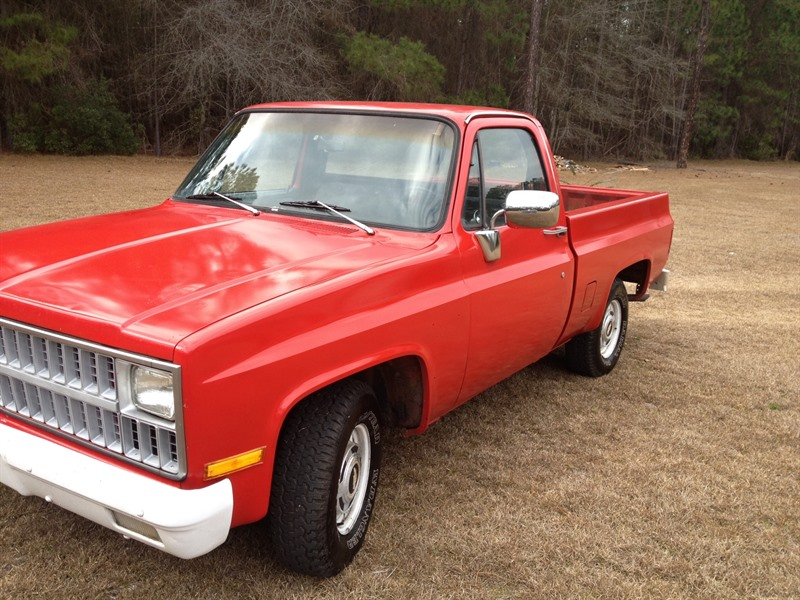 1981 chevy c10 custom deluxe
