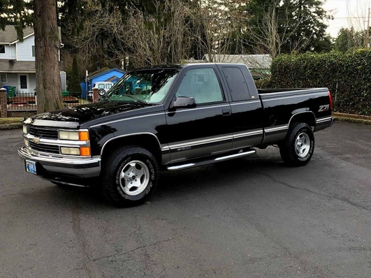 1998 Chevrolet Silverado 1500 Sale By Owner In Salem Or 97313