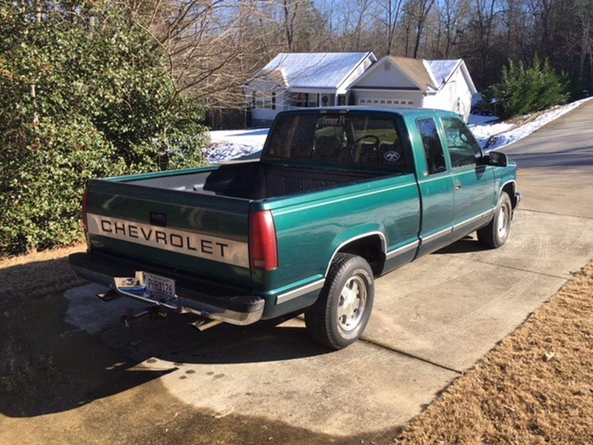 1996 chevrolet silverado 1500 crew cab for sale by private owner in clarkesville ga 30523. Black Bedroom Furniture Sets. Home Design Ideas