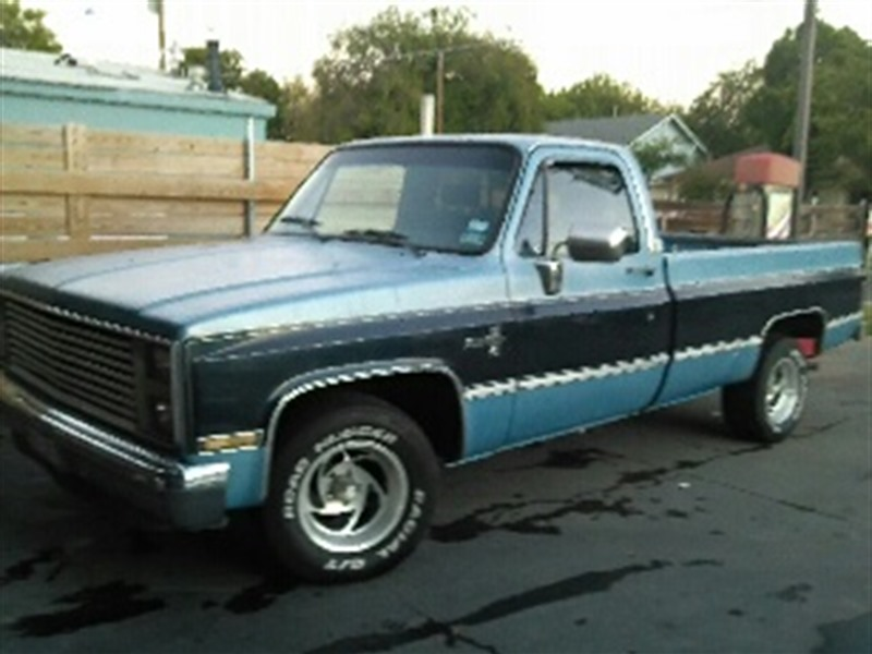 1987 Chevrolet Silverado for sale by owner in DALLAS