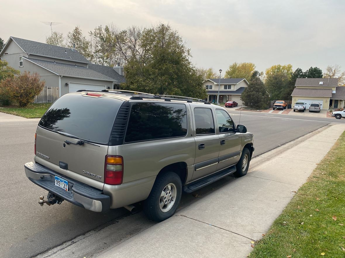 2002 Chevrolet Tahoe  Suburban for sale by owner in Greeley