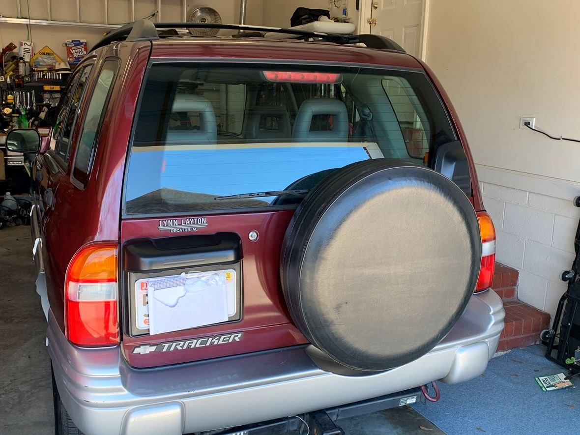 2002 Chevrolet Tracker for sale by owner in Hartselle