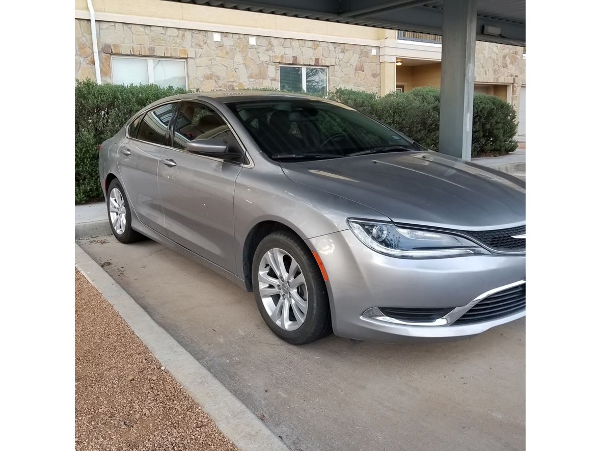 2015 Chrysler 200 for sale by owner in Midland