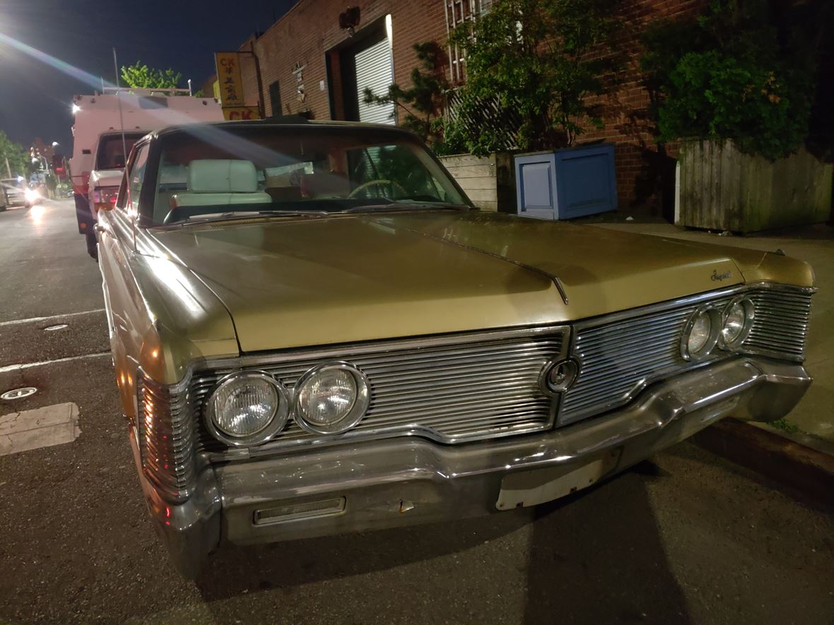 1968 Chrysler Imperial Crown Coupe for sale by owner in Brooklyn