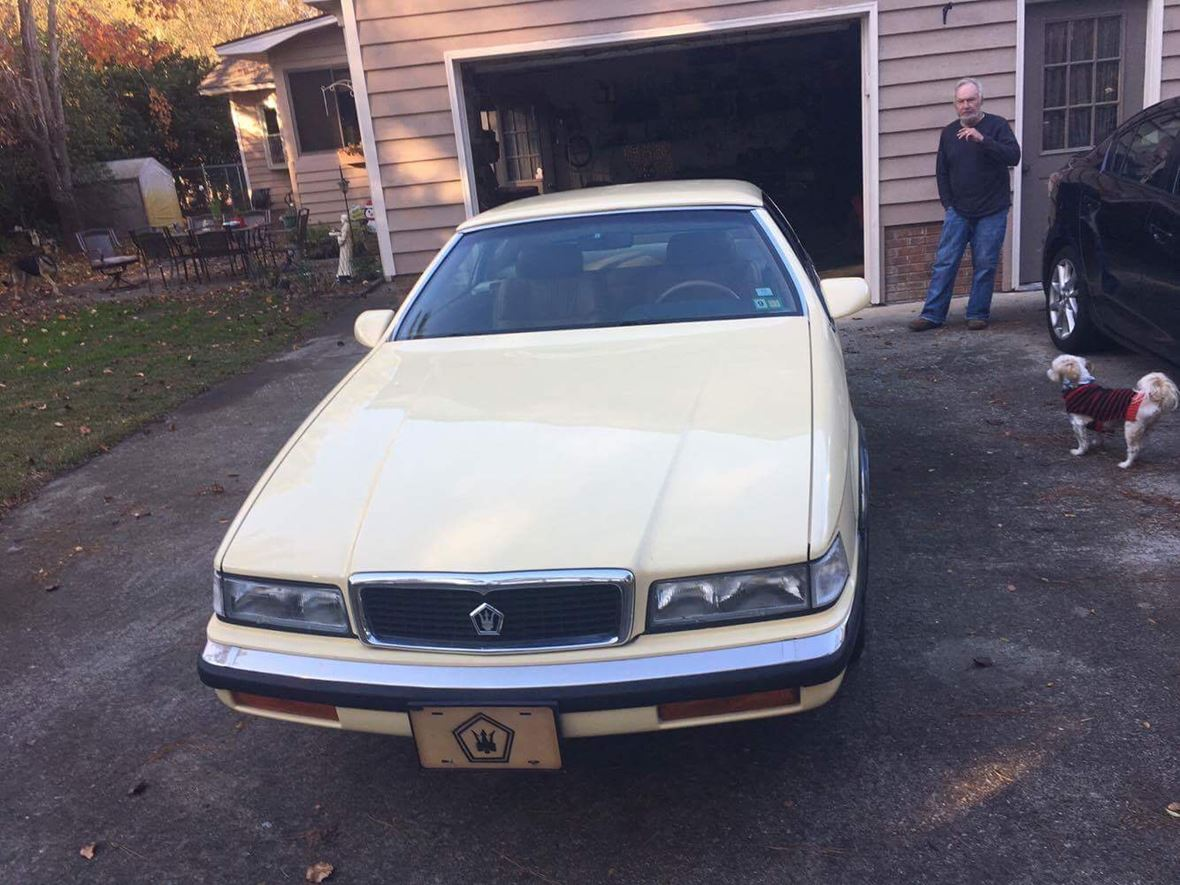 1989 Chrysler Maserati for sale by owner in Murrells Inlet