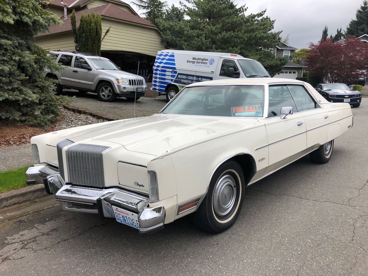 1977 Chrysler New Yorker for sale by owner in Marysville