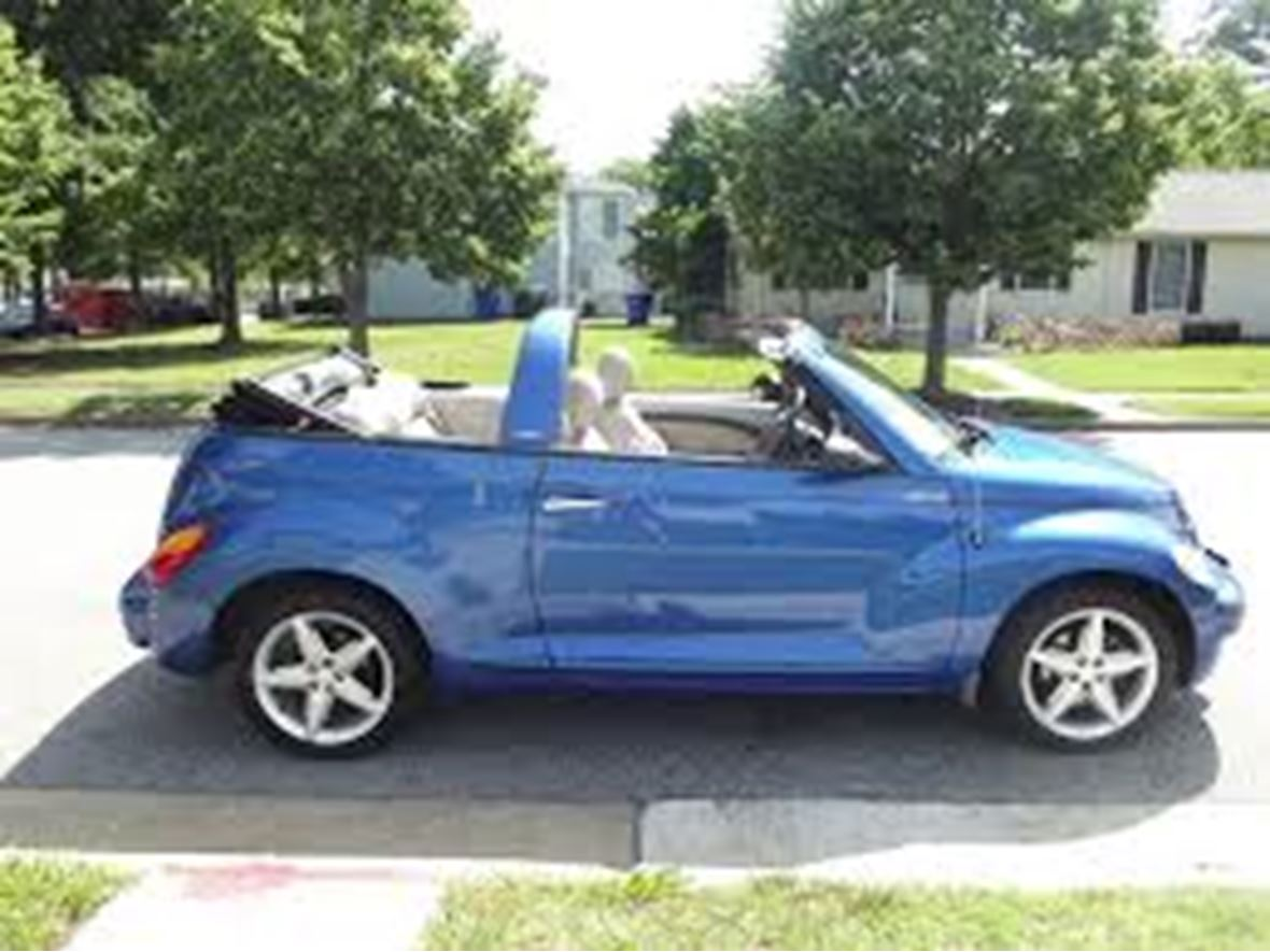 2006 Chrysler Pt Cruiser Convertible Touring For By Owner In Albany Ny 12210 4 995