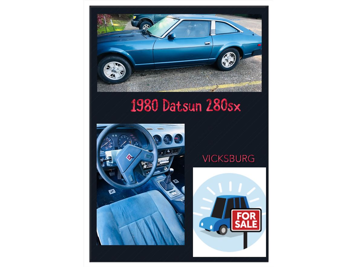 1980 Datsun 280ZX for sale by owner in Vicksburg