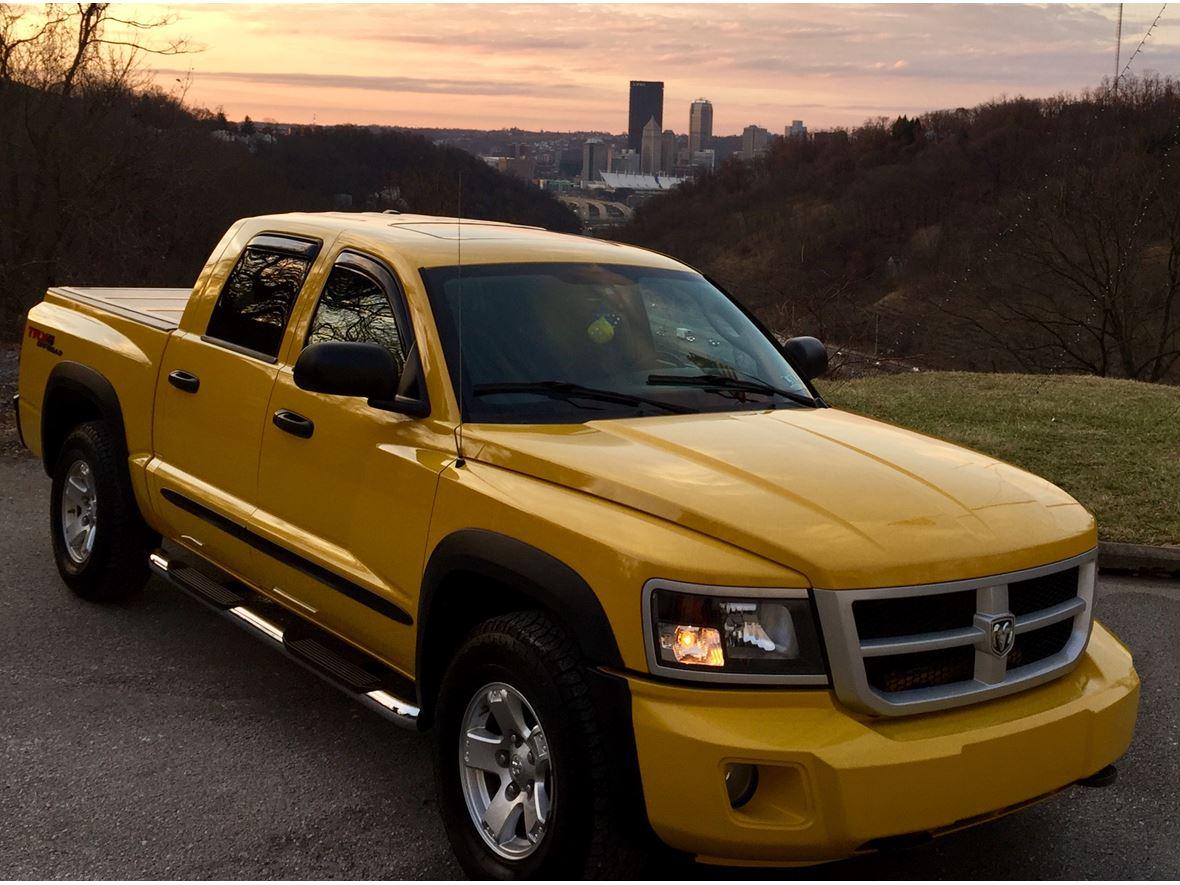 2008 Dodge Dakota Trx4 Crew Cab 4wd By Owner Pittsburgh  Pa 15216