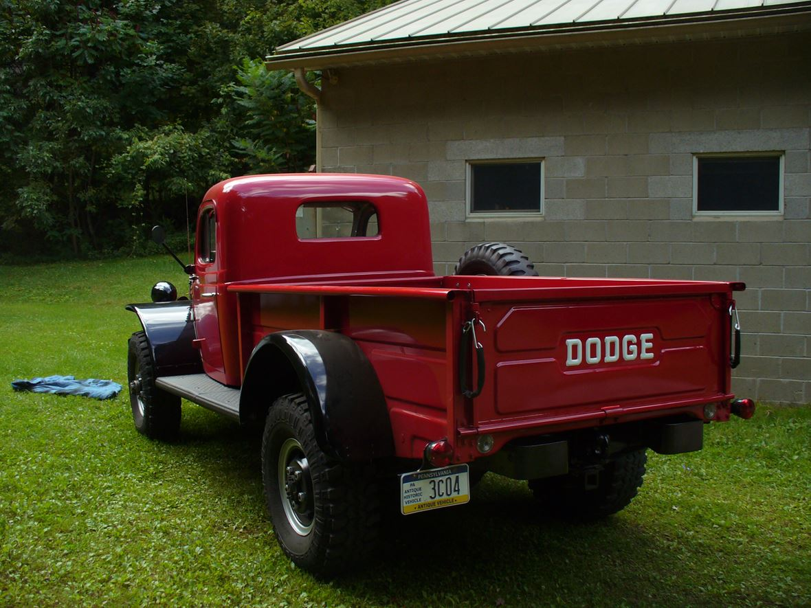 1968 Dodge Power Wagon Antique Car Waterford Pa 16441