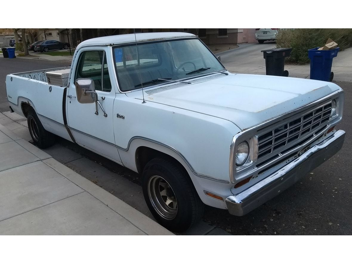 1975 Dodge Ram 100 for sale by owner in Gilbert