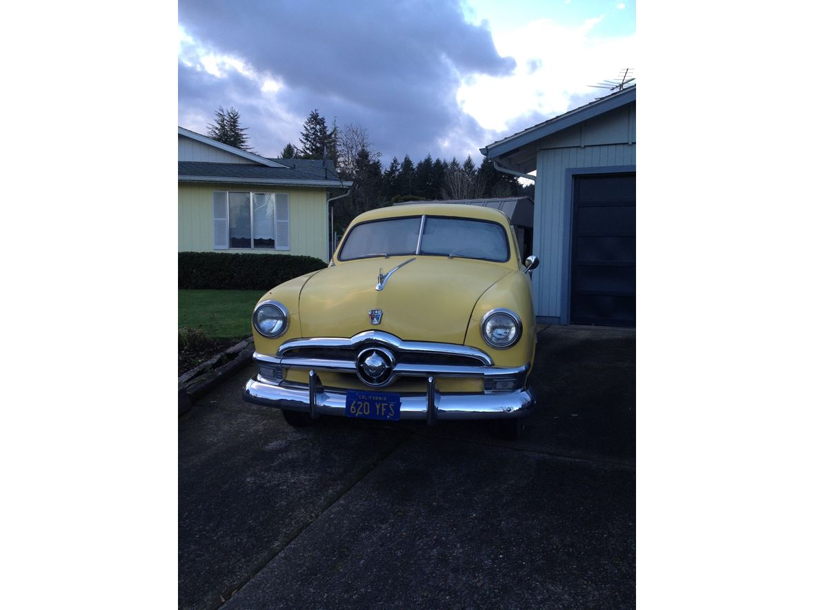Used Engine For Sale >> 1950 Ford 2 Door Sedan - Antique Car - Salem, OR 97313