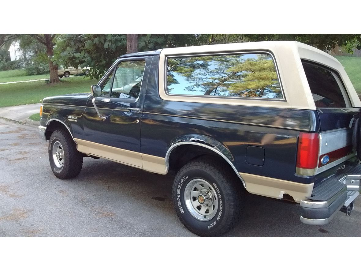 1989 Ford Bronco Classic Car Durham Nc 27701