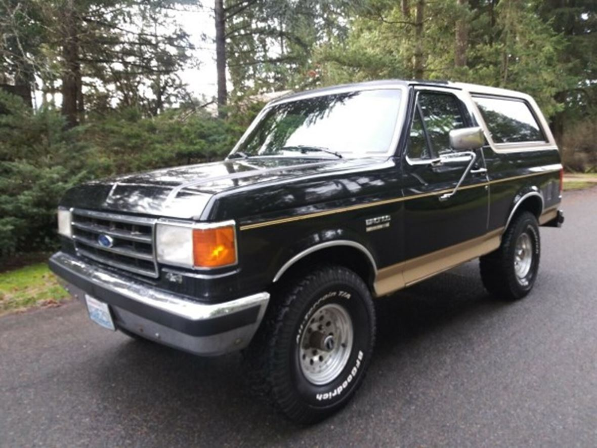 1991 Ford Bronco for sale by owner in Spokane