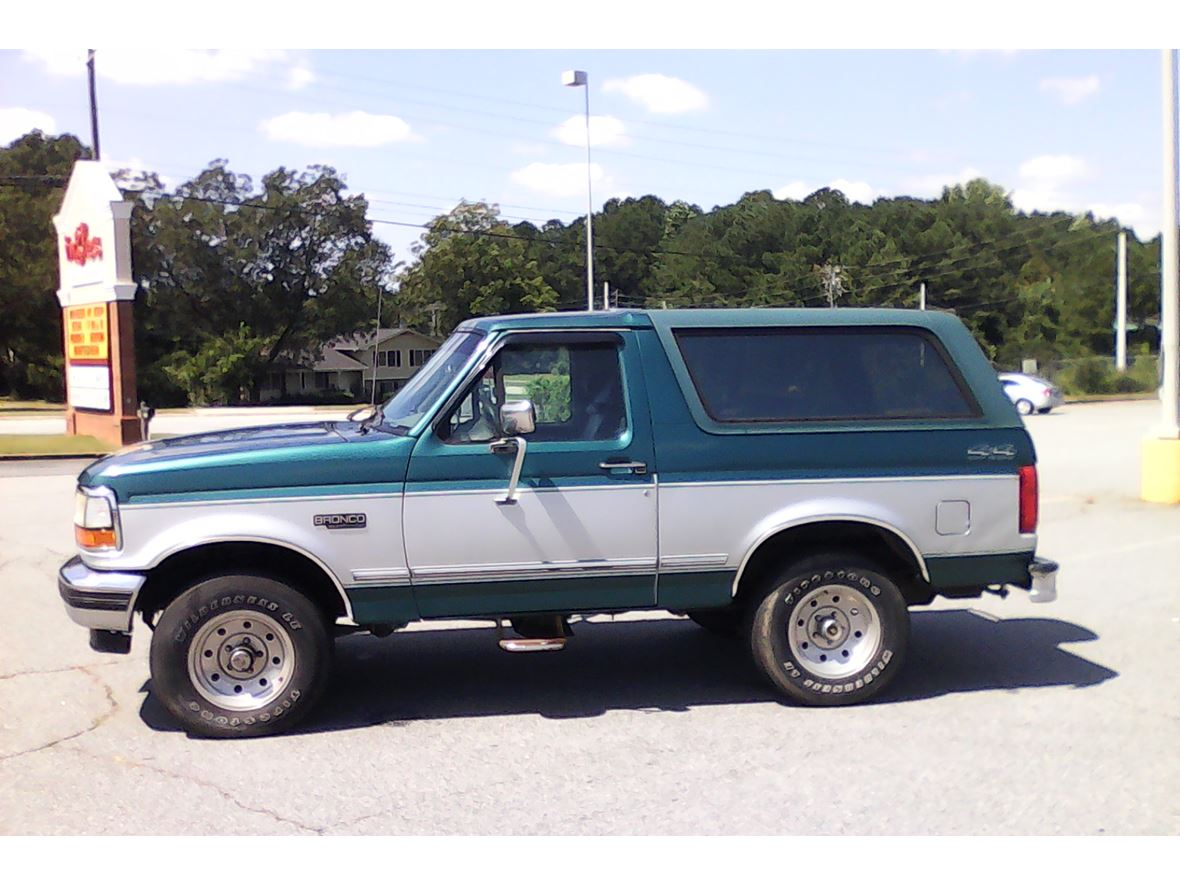 1996 ford bronco for sale by owner in lawrenceville