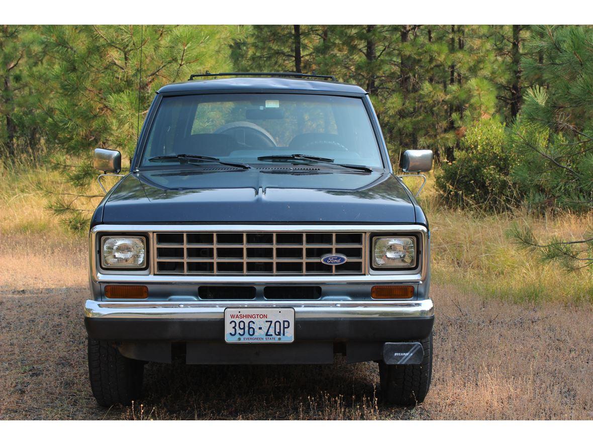 ford bronco ii classic car trout lake wa
