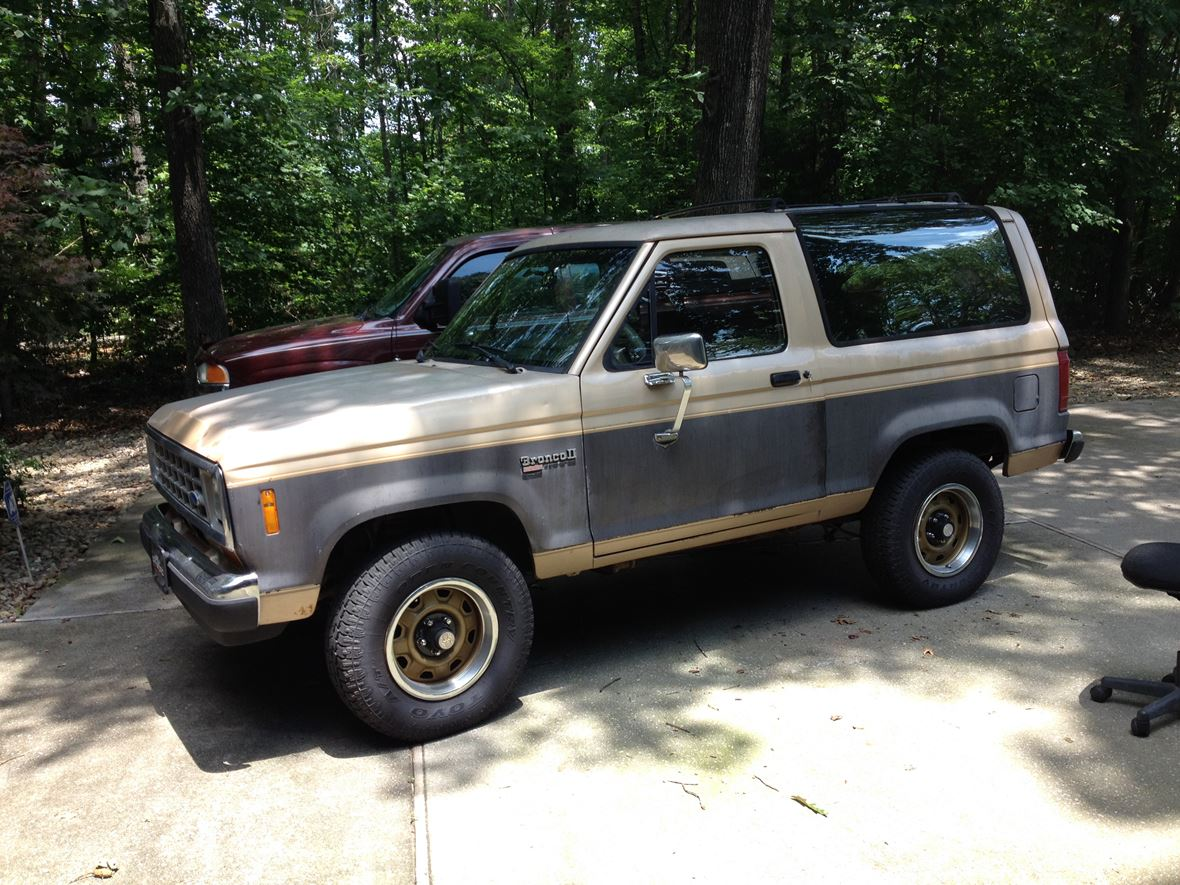 1988 ford bronco ii for sale by owner in loudon