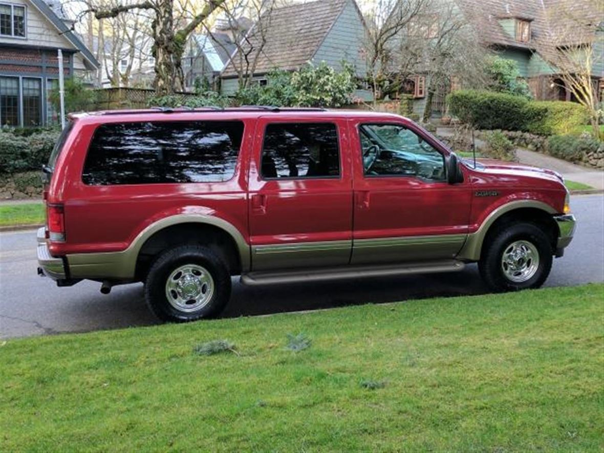 2002 ford excursion for sale by owner in ukiah