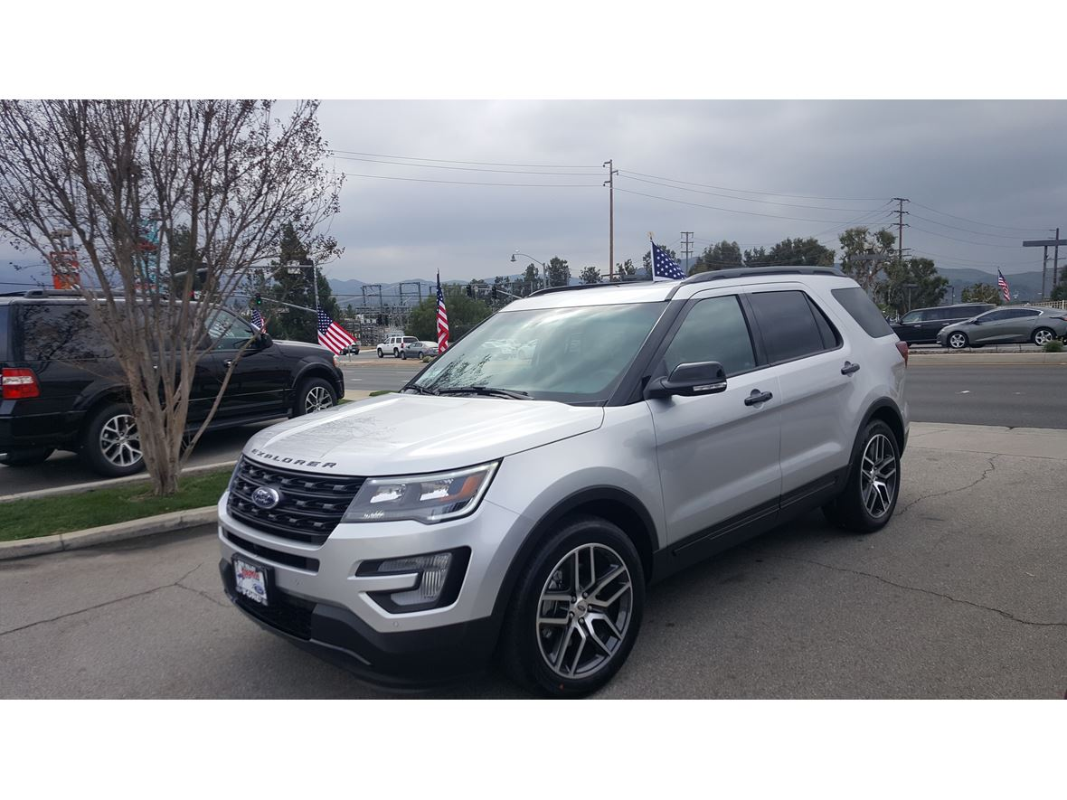 2016 Ford Explorer Sport for sale by owner in Simi Valley