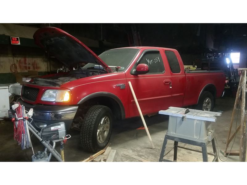 Towed Car Finder >> 2002 Ford F-150 Supercrew Sale by Owner in Monongahela, PA 15063
