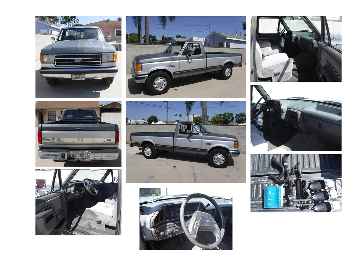 1991 Ford F-250 XLT Lariat for sale by owner in Inglewood