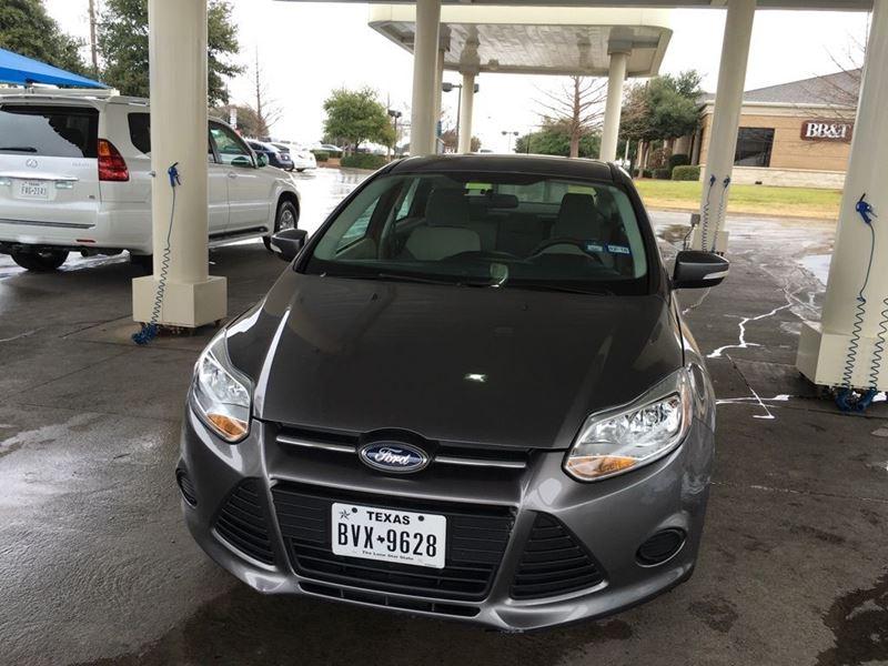 2013 ford focus private car sale in dallas tx 75398