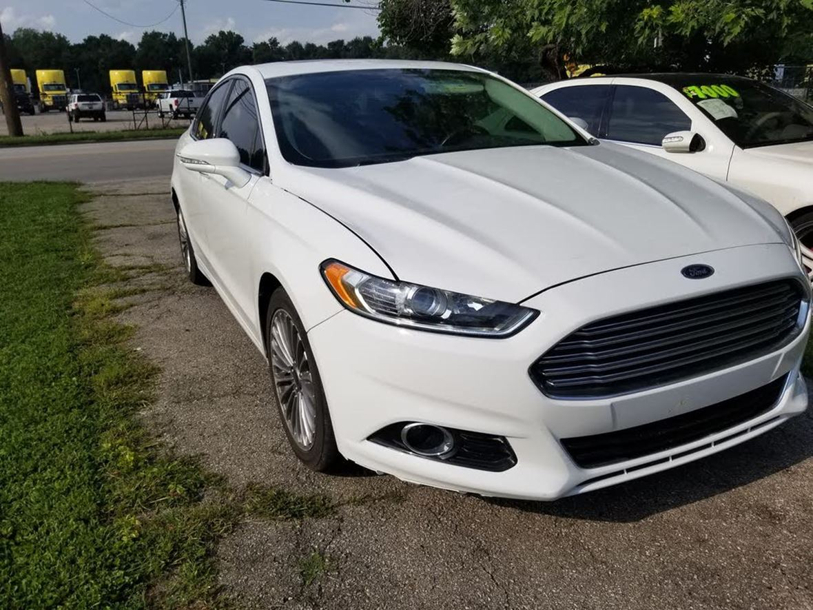 2013 Ford Fusion for sale by owner in Indianapolis