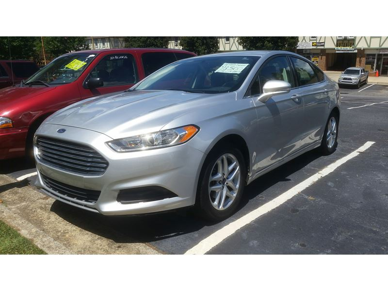 2014 Ford FUSION SE For Sale By Owner In Atlanta, GA 39901