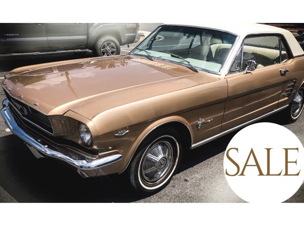 1966 Ford Mustang for sale by owner in Little Rock