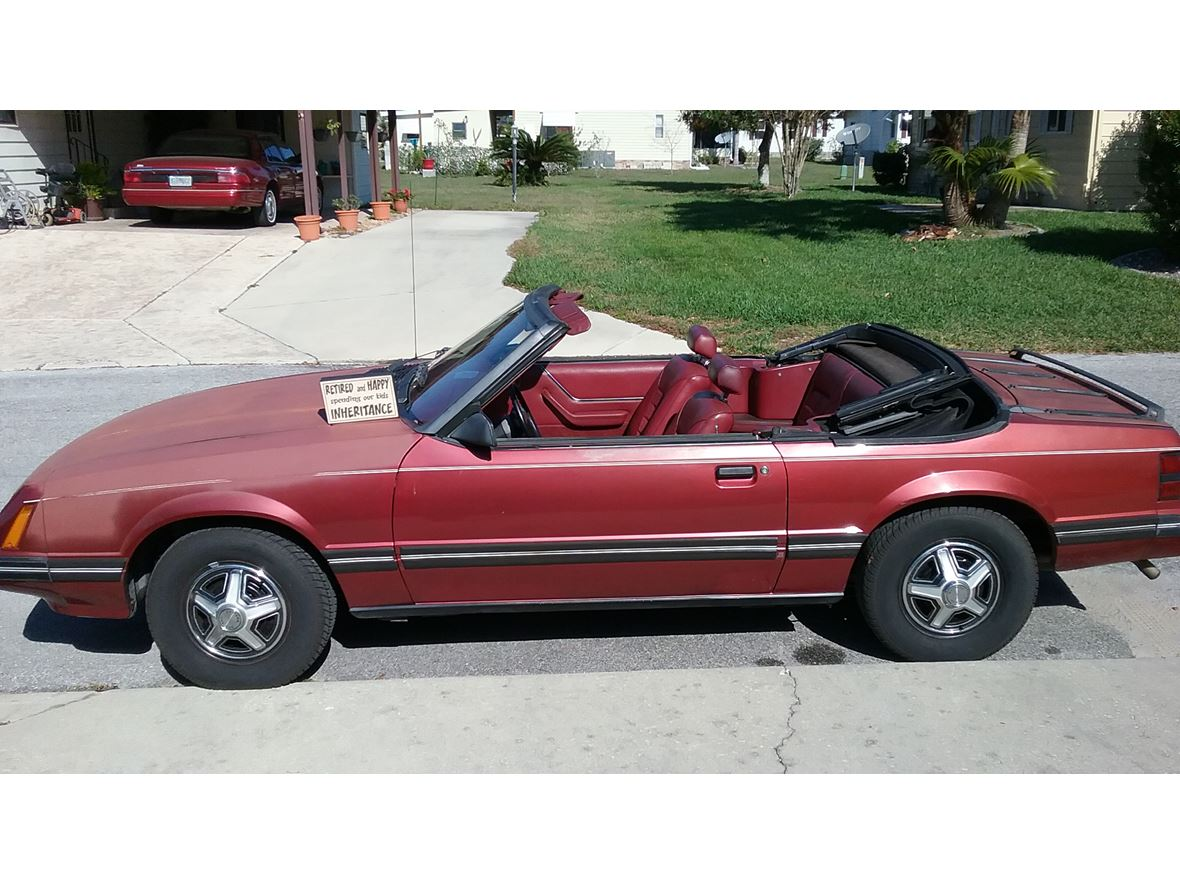 1984 ford mustang for sale by owner in leesburg fl 34748 3000