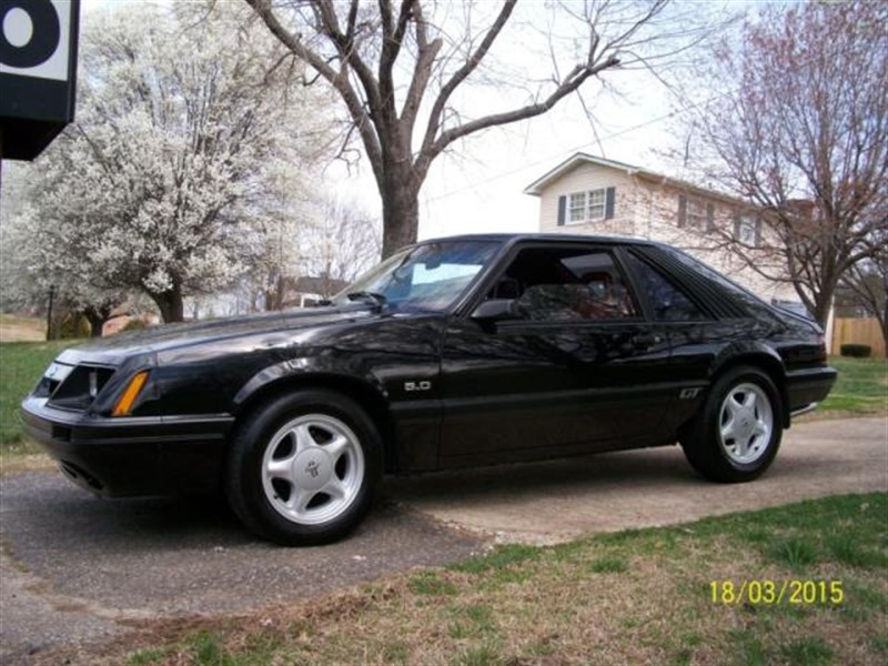 1986 ford mustang classic car greenville sc 29601. Black Bedroom Furniture Sets. Home Design Ideas