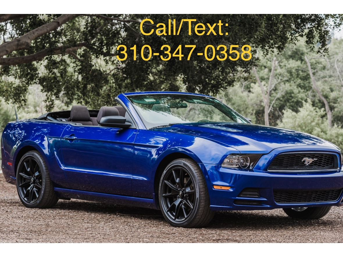 2013 ford mustang for sale by owner in long beach ca 90805 12900