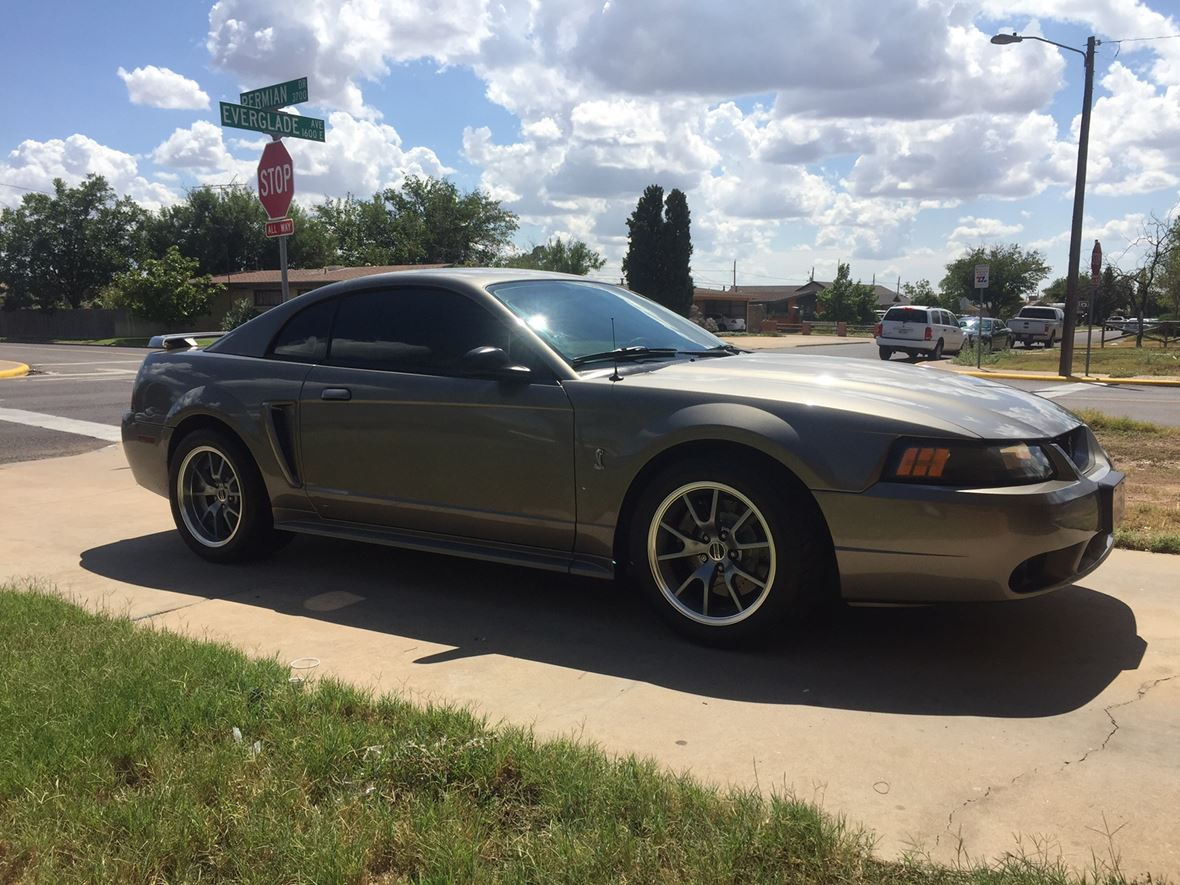 2001 ford mustang svt cobra for sale by owner in odessa