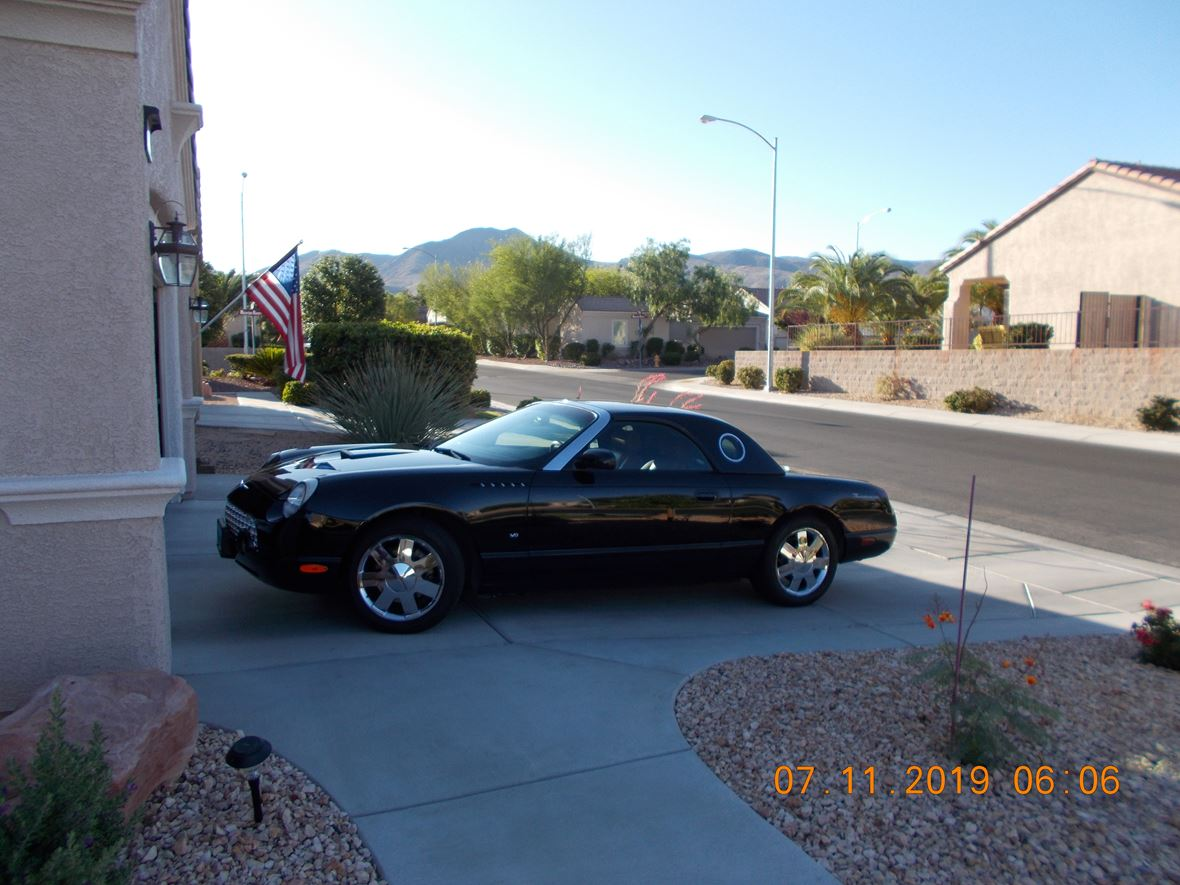 2003 Ford Thunderbird for sale by owner in Henderson