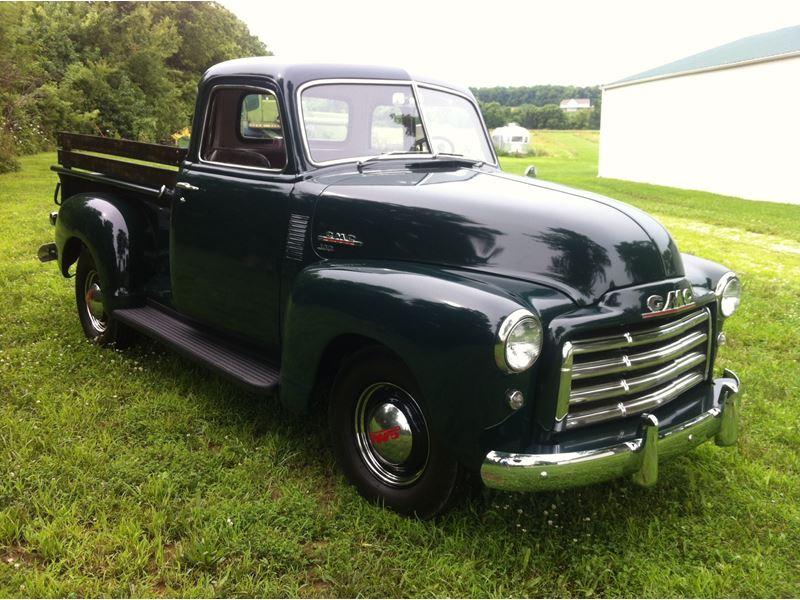 1951 gmc 100 series 1 2 ton antique car kansas city mo 64162. Black Bedroom Furniture Sets. Home Design Ideas