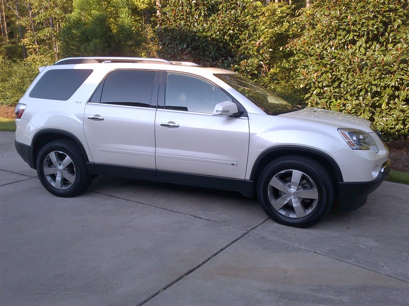 2009 gmc acadia slt for sale by owner in birmingham al 35226. Black Bedroom Furniture Sets. Home Design Ideas