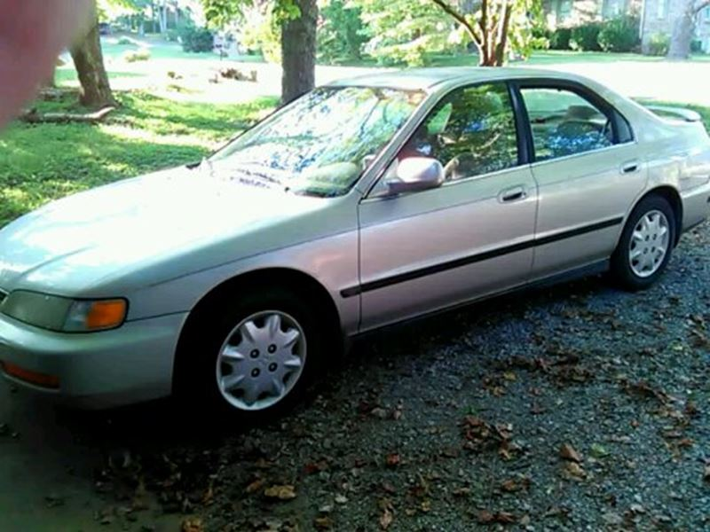 1996 Honda Accord Coupe For Sale By Owner In Cookeville