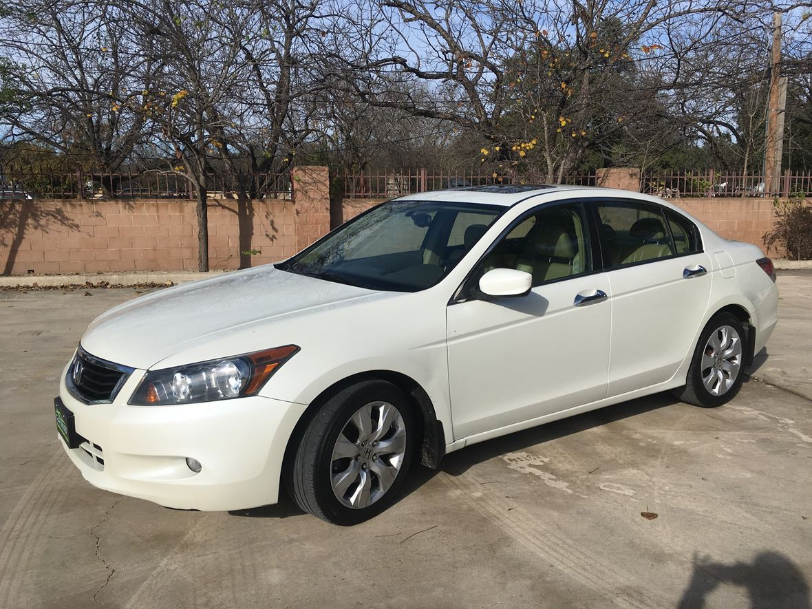 2009 honda accord ex l for sale by owner in san antonio. Black Bedroom Furniture Sets. Home Design Ideas
