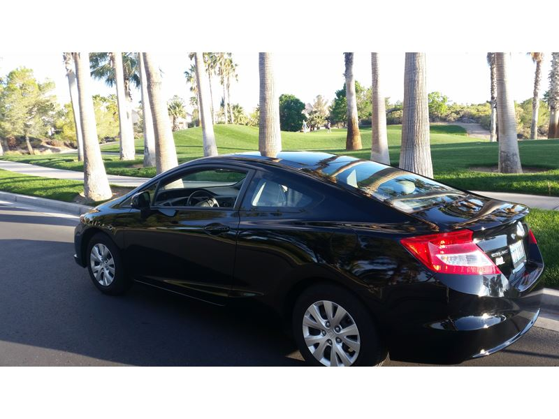 2012 honda civic coupe for sale by owner in las vegas nv 89158. Black Bedroom Furniture Sets. Home Design Ideas